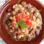 Foul Mdamas (Fava beans)