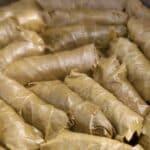 Vegan Lebanese Stuffed Vine Leaves