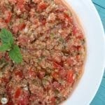 Kamounet Banadoura (Cumin Tomatoes with Bulgur Wheat)