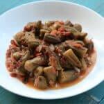 Vegan Okra In Tomato Sauce (Bamia b'zeit)