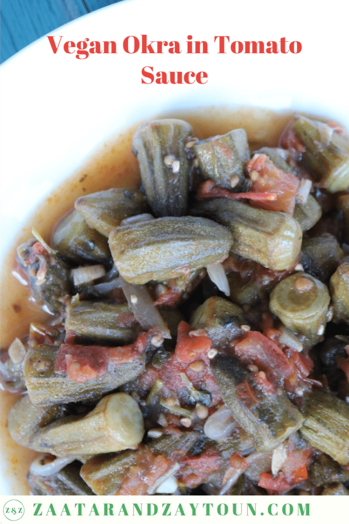 how to make vegan okra