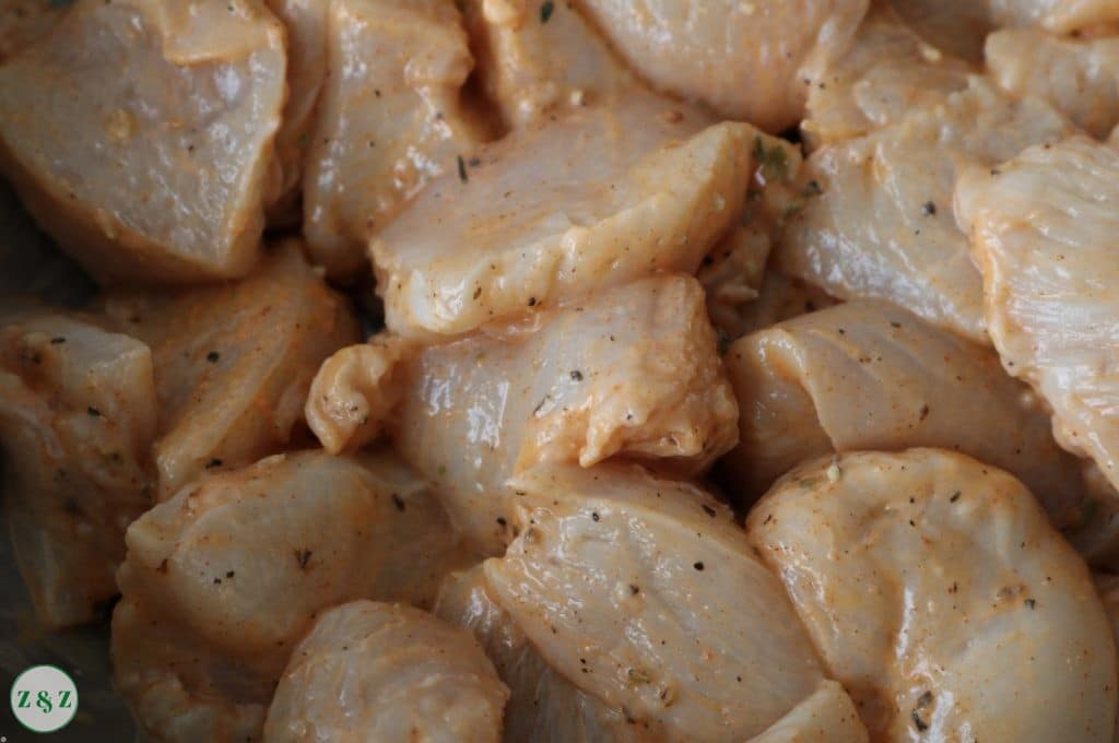 Shish Tawouk marinade