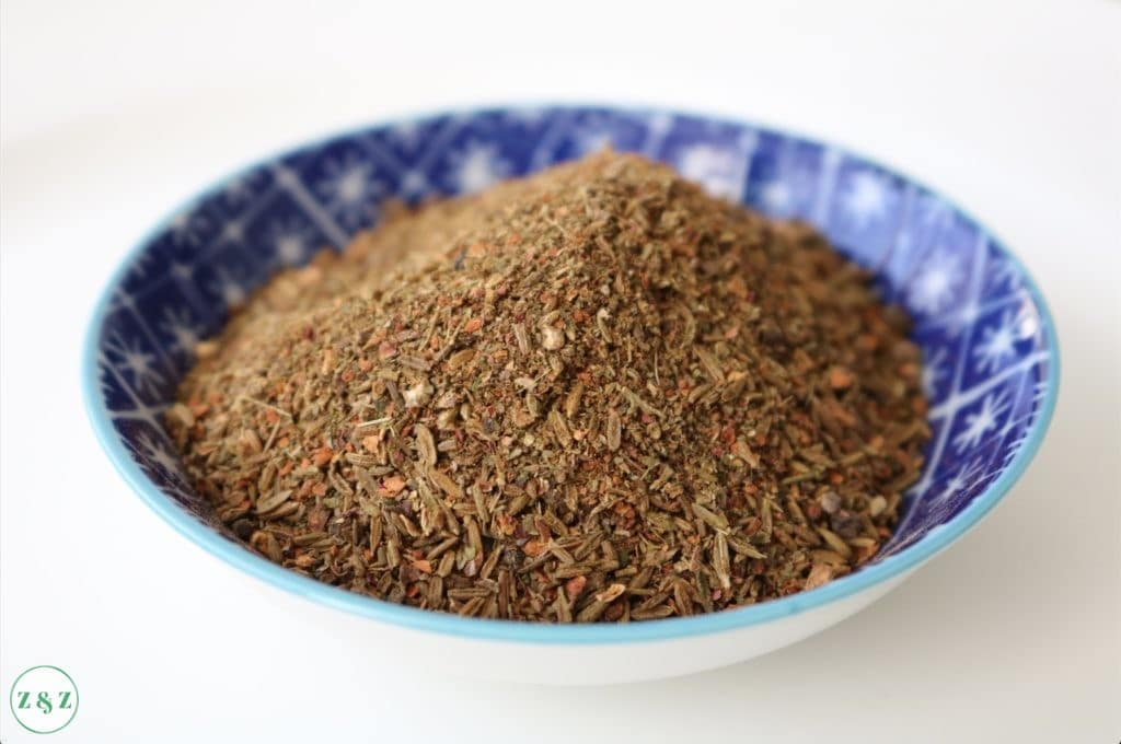 Kamouneh spice blend aka kibbeh spices