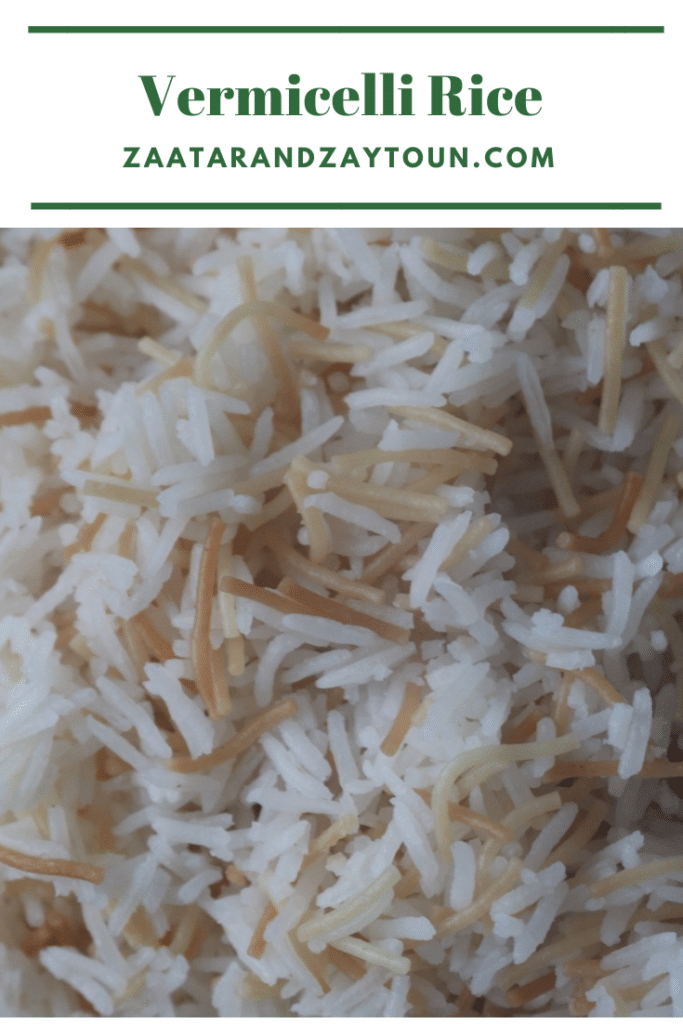 How to make vermicelli rice