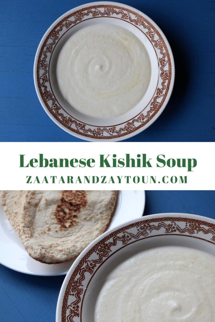 how to make Lebanese kishik soup