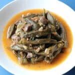 okra stew with lamb