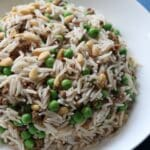 Lebanese Rice with Mince and Peas