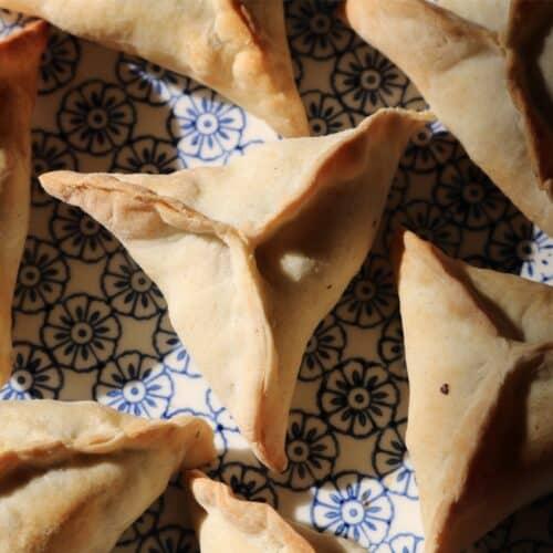 Lebanese Spinach Fatayer Recipe