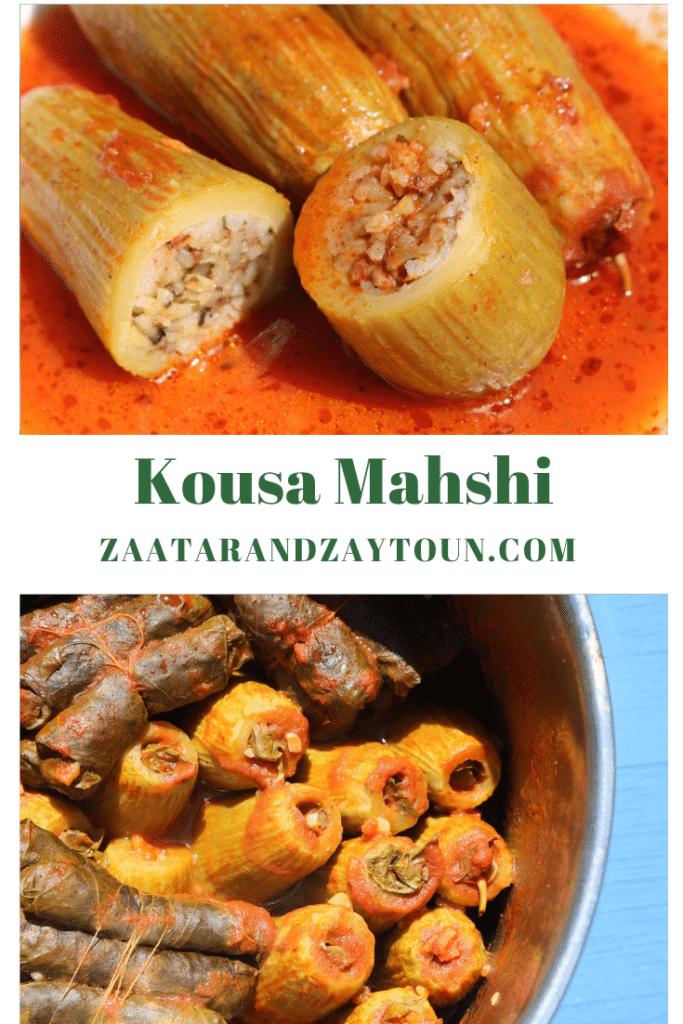 How to make kousa mahshi