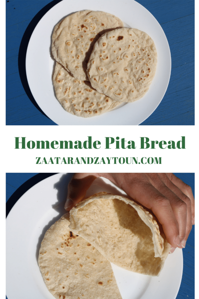 How to make pitta breads