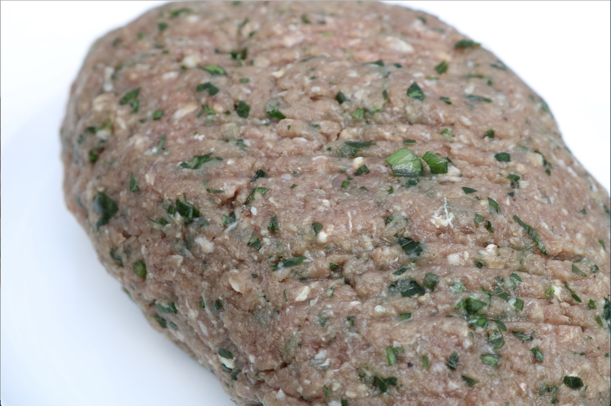 ground beef with herbs and spices