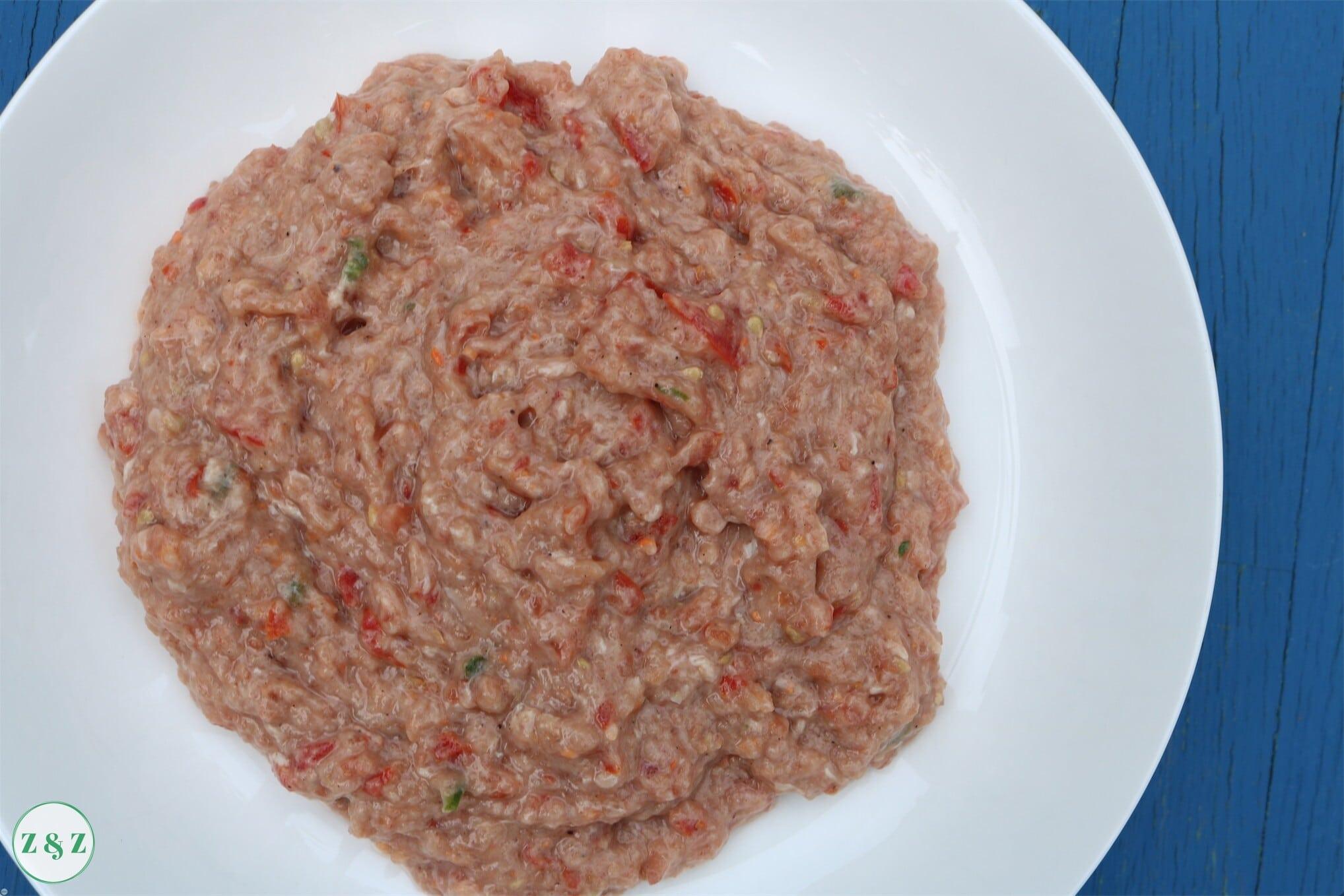 lahm bi ajeen meat mixture