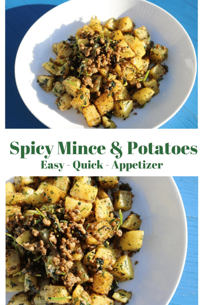 Spicy mince and potatoes