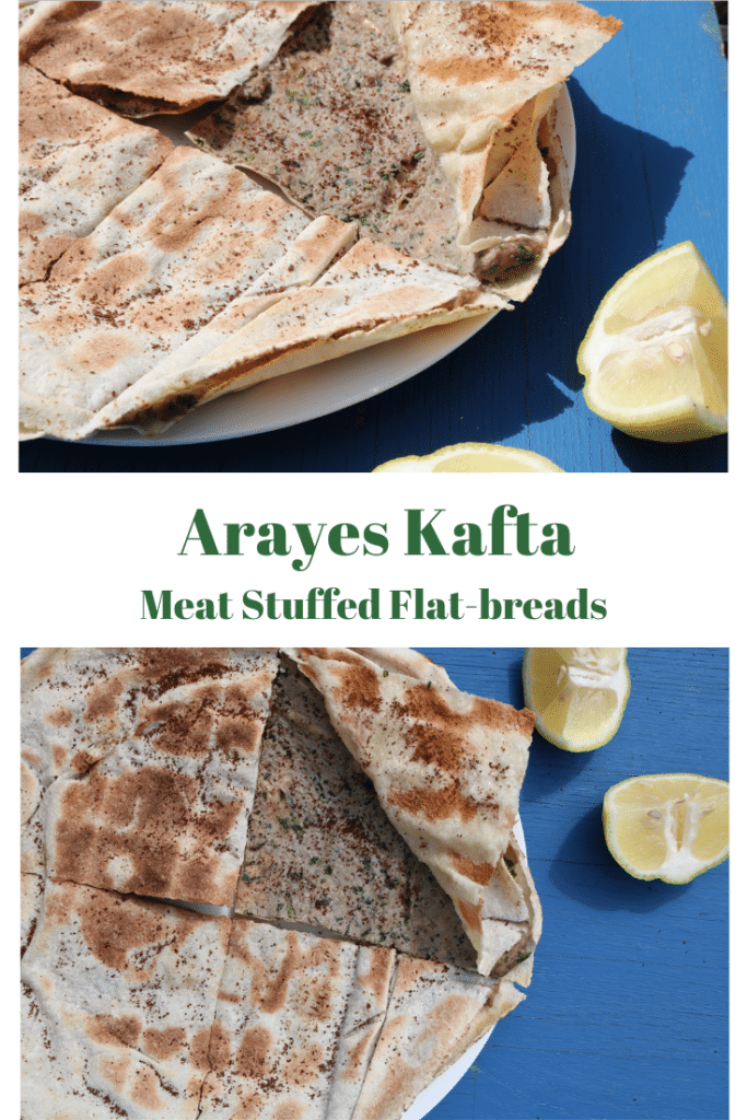 how to make arayes kafta