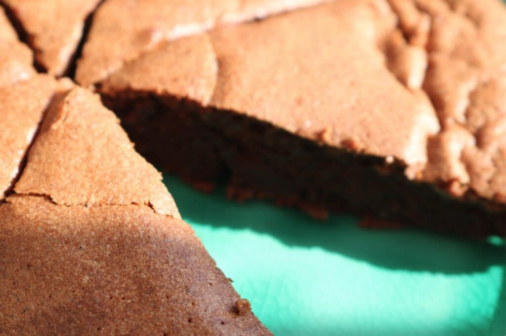 French Soft chocolate cake